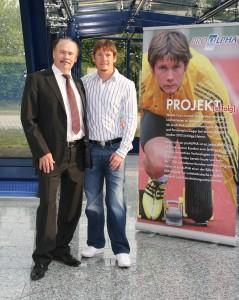 proALPHA Vorstand Leo Ernst und ich